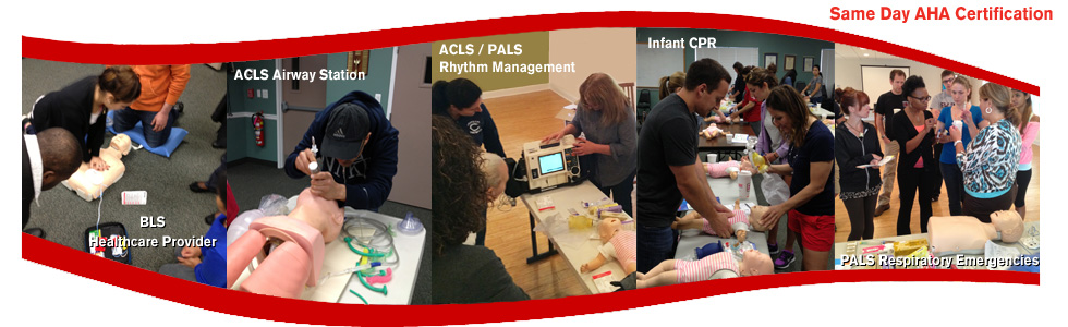 American Heart Association CPR ACLS PALS BLS Classes in New Jersey