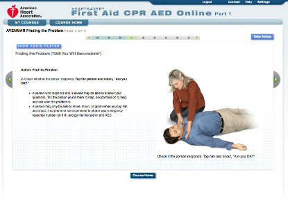 Heartsaver First Aid CPR AED Online