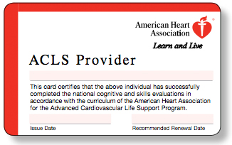 Advanced Cardiovascular Life Support (ACLS) - cpr.heart.org